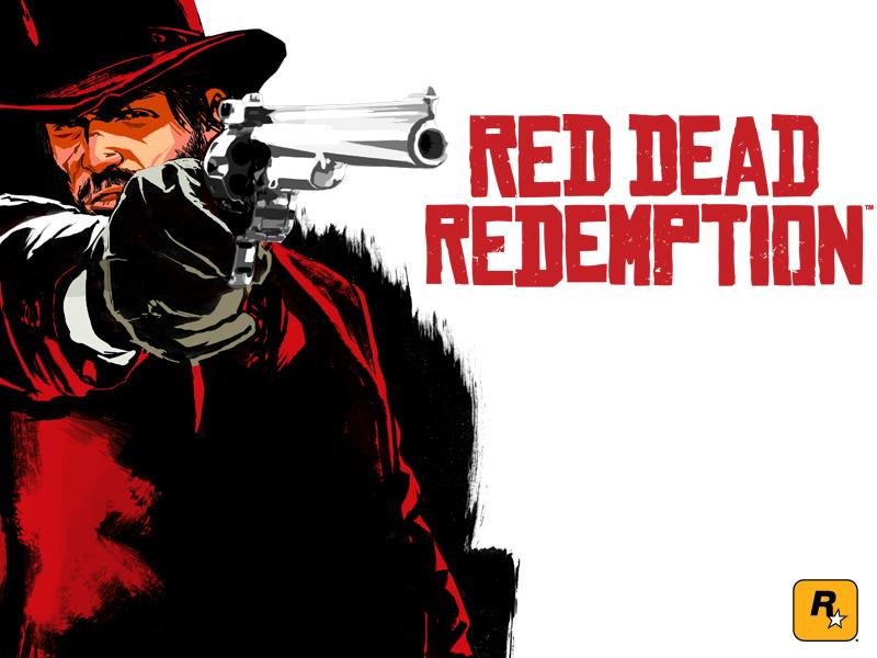 6 personas baten el récord de gines de mas horas jugando a un videojuego RedDeadRedemptionLogo