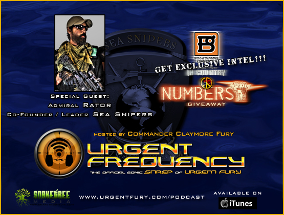 Urgent Frequency Ep. #79 - Urgent Frequency welcomes the Sea Snipers' Rator.