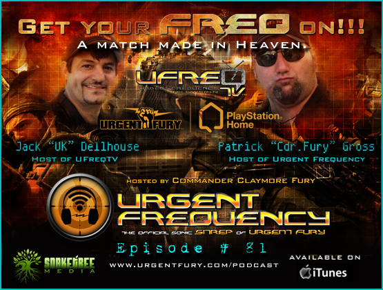 Urgent Frequency Ep. #81- Urgent Frequency Television launches on PlayStation® Home