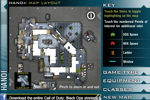 BradyGames hits the IPhone and IPad with the Call of Duty Black Ops Map App