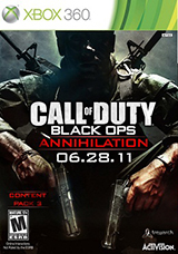 Black Ops 'Annihilation' DLC3: Confirmed!