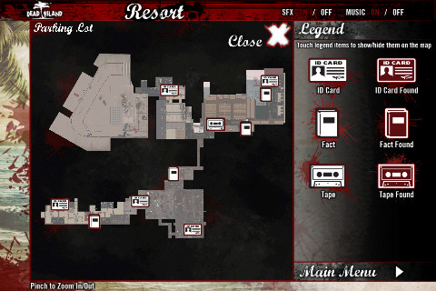 Use your IPhone or IPad to get through Dead Island