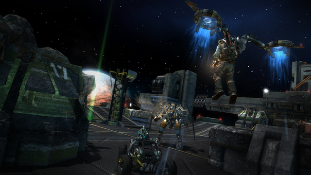 I am addicted to the StarHawk Private Beta!