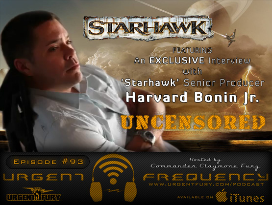 Urgent Frequency Ep. 93 - Exclusive Interview with Starhawk Senior Producer Harvard Bonin