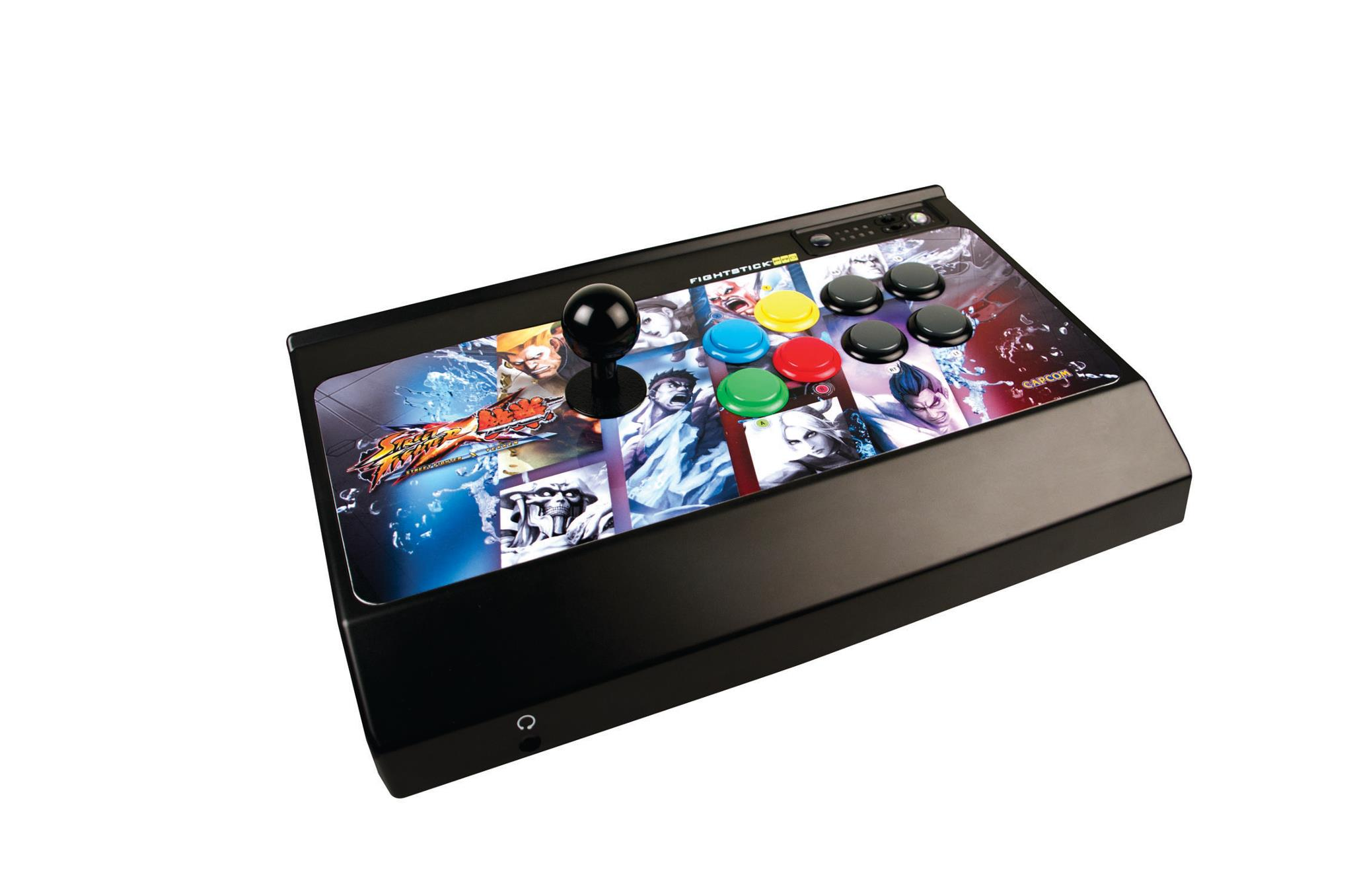 Get your Fight on as BradyGames is hooking you up with  a Mad Catz Street Fighter X Tekken FightStick or FightPad