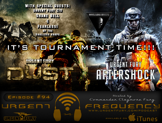 Urgent Frequency Ep. 94 – It's Tournament Time with Special Guests FEARLESS1 and Shane