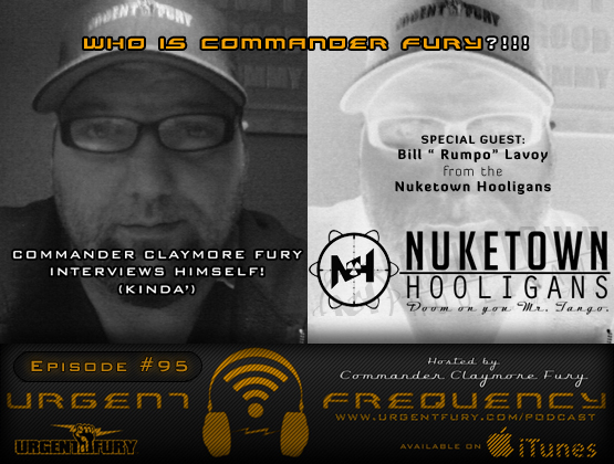 Urgent Frequency Ep. 95  Commander Fury interviews himself. Well...kinda'.