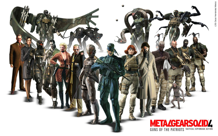 25th Anniversary of Metal Gear Brings Trophy Support to MGS4