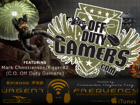 Urgent Frequency Ep. 98 – Mark Christianson, Medal Of Honor: Warfighter, & zombies!
