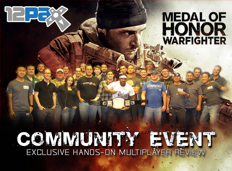 PAX 2012 Medal Of Honor: Warfighter Community Event