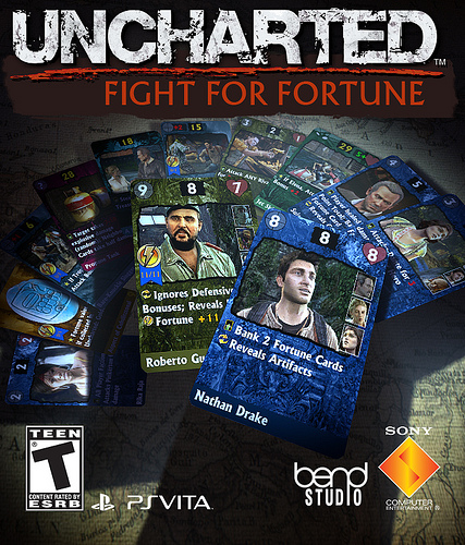 Uncharted: Fight For Fortune announced for the Vita