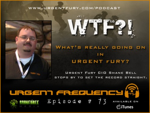 Check out the latest episode of Urgent Fury's Sonic SITREP!