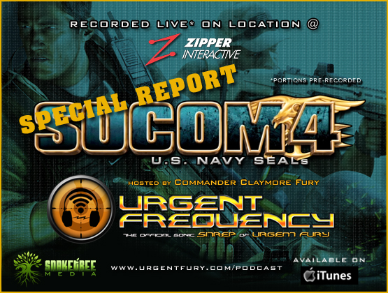 """Urgent Frequency Ep. #80- Urgent Frequency's coverage of SOCOM 4: U.S. Navy SEALs """"Media Day""""."""