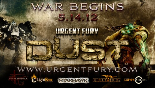 Sign up for Urgent Fury Dust today only on PlayStation 3