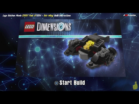 Lego Dimensions Bat Wing Build Instructions Lego Batman Movie